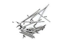 Screw Set - Rod Screws & Pivot Screws - Old Buffet A Clarinet