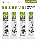 Reserve Alto Saxophone Reed Sampler Pack - Strength 3 to 3.5