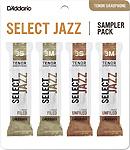 Select Jazz Tenor Sax Reed Sampler Pack