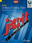 Jazz It 13 Ways Of Getting There Clarinet Book&cd