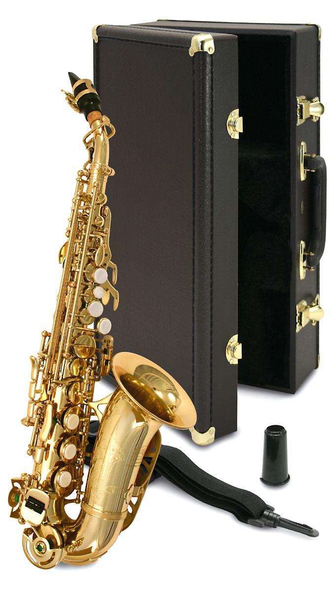 elkhart curved soprano sax. Black Bedroom Furniture Sets. Home Design Ideas