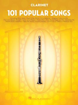 101 Popular Songs Clarinet