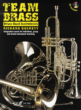 Team Brass Brass Band Instruments Treble clef + Cd