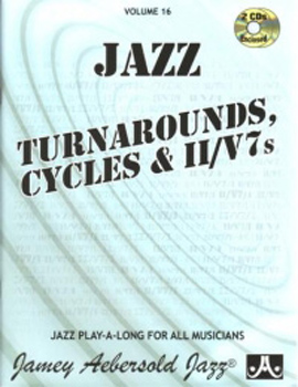 Aebersold 016 Turnarounds Cycles & Ii-V7 Book/Cd