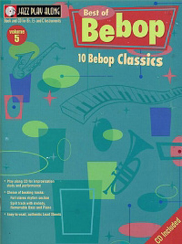 Jazz Play Along 05 Best of Bebop Book & Cd