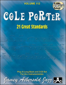 Aebersold 112 Cole Porter 21 Great Standards Bk/Cd