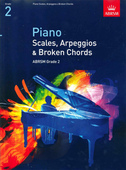 Piano Scales & Arpeggios from 2009 Grade 2 Abrsm