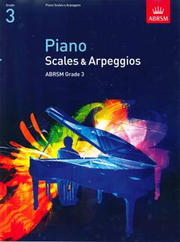 Piano Scales & Arpeggios from 2009 Grade 3 Abrsm