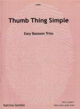 Thumb Thing Simple Gordon Easy Bassoon Trios