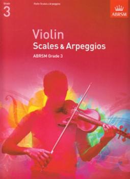 Violin Scales & Arpeggios 2012 Grade 3 Abrsm