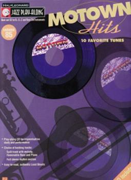 Jazz Play Along 85 Motown Hits Book & Cd