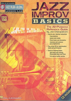 Jazz Play Along 150 Jazz Improv Basics Book & Cd