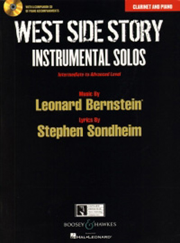 West Side Story Instrumental Solos Clarinet + Cd