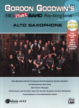 Big Phat Band Vol 2 Alto Saxophone Goodwin + Dvd