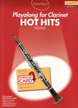 Guest Spot Hot Hits Clarinet + online