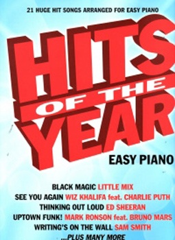 Hits Of The Year 2015 Easy Piano*