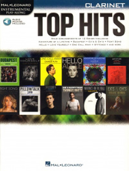 Top Hits Instrumental Play Along Clarinet + online