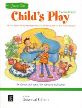 Rae Child's Play Clarinet & Piano