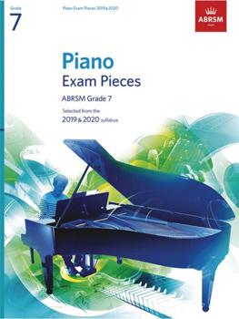 Piano Exams 2019-2020 Grade 7 Abrsm