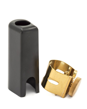 Otto Link Sop Sax Ligature and Cap for Metal Mouthpiece