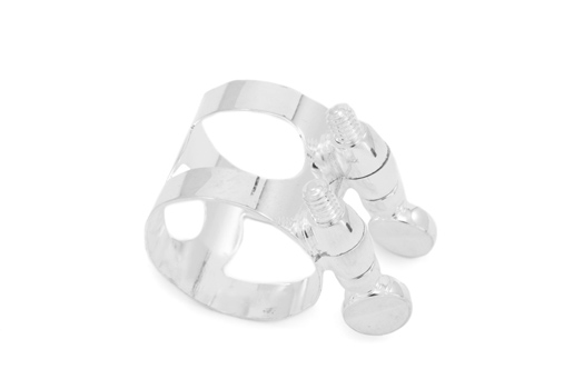 Cannonball Saxophone Ligature Large - Silver Plated