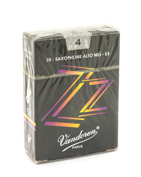 Vandoren ZZ Alto Saxophone Reed Box of 10 - Strength 4