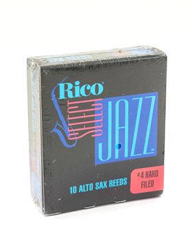Rico Jazz Select Filed Alto Saxophone Reed Box of 10 - Strength 4H