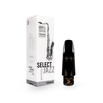 Select Jazz by D Addario Tenor Saxophone Mouthpiece
