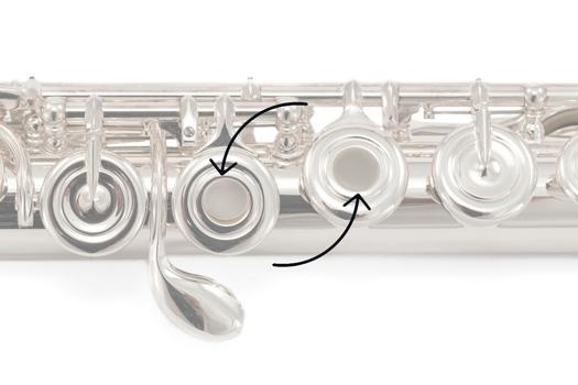 Open Hole Plug Set for Pearl Flutes - Silicon