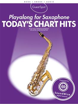 Guest Spot Todays Chart Hits Sax (Alto) Bk & Cd